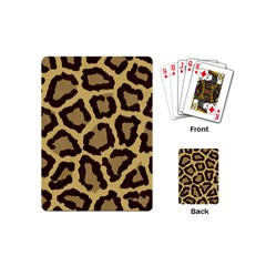 Leopard Playing Cards (mini)  by BangZart