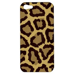 Leopard Apple Iphone 5 Hardshell Case by BangZart
