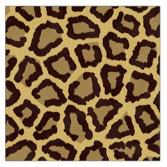 Leopard Large Satin Scarf (square) by BangZart
