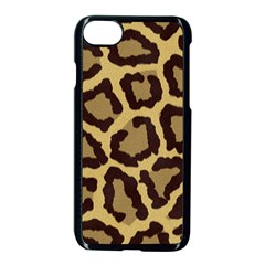 Leopard Apple Iphone 7 Seamless Case (black) by BangZart