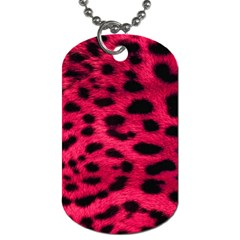 Leopard Skin Dog Tag (two Sides) by BangZart