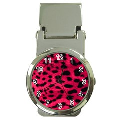 Leopard Skin Money Clip Watches by BangZart