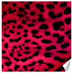 Leopard Skin Canvas 20  X 20   by BangZart