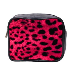 Leopard Skin Mini Toiletries Bag 2 Side by BangZart