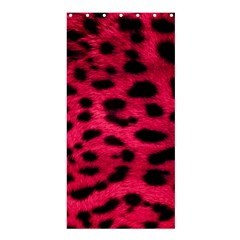 Leopard Skin Shower Curtain 36  X 72  (stall)  by BangZart