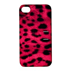 Leopard Skin Apple Iphone 4/4s Hardshell Case With Stand by BangZart