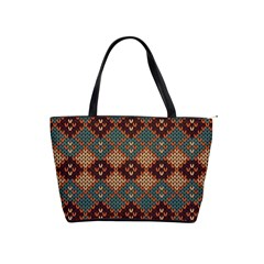 Knitted Pattern Shoulder Handbags by BangZart