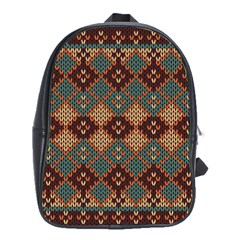 Knitted Pattern School Bags(large)