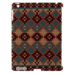 Knitted Pattern Apple Ipad 3/4 Hardshell Case (compatible With Smart Cover) by BangZart
