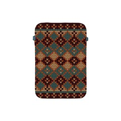 Knitted Pattern Apple Ipad Mini Protective Soft Cases by BangZart