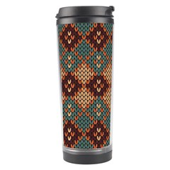 Knitted Pattern Travel Tumbler