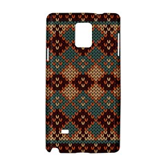 Knitted Pattern Samsung Galaxy Note 4 Hardshell Case by BangZart
