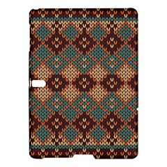 Knitted Pattern Samsung Galaxy Tab S (10 5 ) Hardshell Case  by BangZart