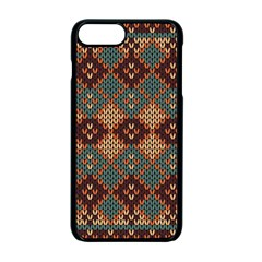 Knitted Pattern Apple Iphone 7 Plus Seamless Case (black) by BangZart