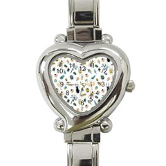 Insect Animal Pattern Heart Italian Charm Watch by BangZart