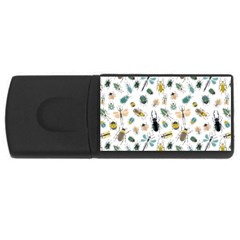 Insect Animal Pattern Rectangular Usb Flash Drive