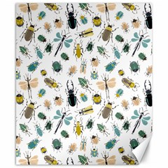 Insect Animal Pattern Canvas 8  X 10  by BangZart