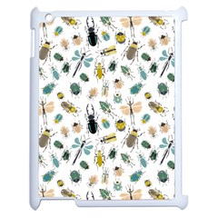 Insect Animal Pattern Apple Ipad 2 Case (white) by BangZart