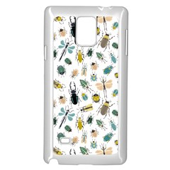 Insect Animal Pattern Samsung Galaxy Note 4 Case (white) by BangZart