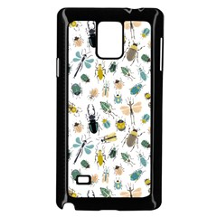 Insect Animal Pattern Samsung Galaxy Note 4 Case (black)