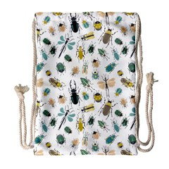 Insect Animal Pattern Drawstring Bag (large)