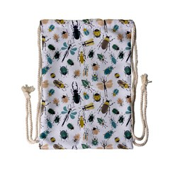 Insect Animal Pattern Drawstring Bag (small)