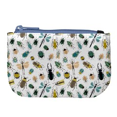 Insect Animal Pattern Large Coin Purse