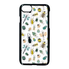 Insect Animal Pattern Apple Iphone 7 Seamless Case (black) by BangZart