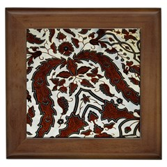 Javanese Batik Framed Tiles by BangZart