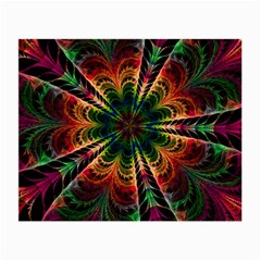 Kaleidoscope Patterns Colors Small Glasses Cloth by BangZart