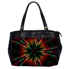 Kaleidoscope Patterns Colors Office Handbags by BangZart