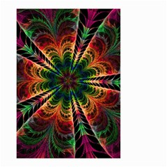 Kaleidoscope Patterns Colors Small Garden Flag (two Sides)