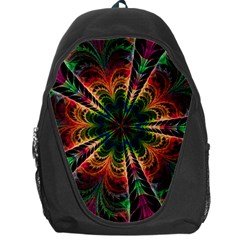 Kaleidoscope Patterns Colors Backpack Bag by BangZart