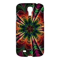 Kaleidoscope Patterns Colors Samsung Galaxy S4 I9500/i9505 Hardshell Case by BangZart