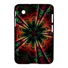 Kaleidoscope Patterns Colors Samsung Galaxy Tab 2 (7 ) P3100 Hardshell Case