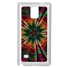 Kaleidoscope Patterns Colors Samsung Galaxy Note 4 Case (white)