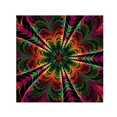 Kaleidoscope Patterns Colors Small Satin Scarf (square) by BangZart