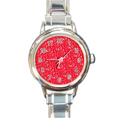 Heart Pattern Round Italian Charm Watch by BangZart