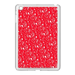 Heart Pattern Apple Ipad Mini Case (white) by BangZart