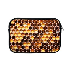 Honey Honeycomb Pattern Apple Ipad Mini Zipper Cases