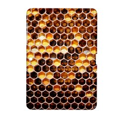 Honey Honeycomb Pattern Samsung Galaxy Tab 2 (10 1 ) P5100 Hardshell Case