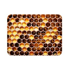 Honey Honeycomb Pattern Double Sided Flano Blanket (mini)