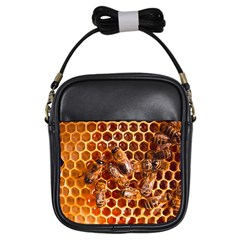 Honey Bees Girls Sling Bags by BangZart