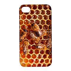 Honey Bees Apple Iphone 4/4s Hardshell Case With Stand by BangZart