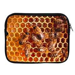 Honey Bees Apple Ipad 2/3/4 Zipper Cases by BangZart