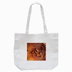 Honey Bees Tote Bag (white)