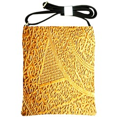 Gold Pattern Shoulder Sling Bags by BangZart