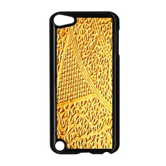 Gold Pattern Apple Ipod Touch 5 Case (black) by BangZart