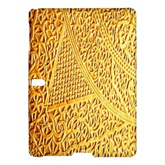 Gold Pattern Samsung Galaxy Tab S (10 5 ) Hardshell Case  by BangZart