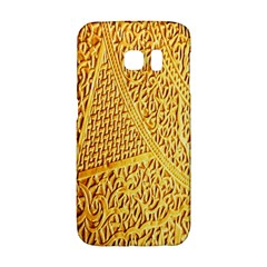 Gold Pattern Galaxy S6 Edge by BangZart